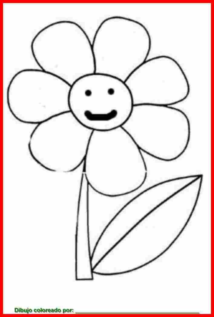 Flores Dibujos Para Imprimir Gratis